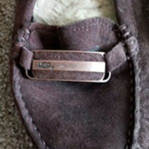 Ugg Brown Suede Driving Moccasins sz.9